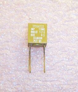QTY (1) PCT61 STANCOR IMPEDANCE MATCHING TRANSFORMER TF5SX17ZZ NOS