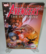 Avengers The Initiative: Killed in Action Marvel TPB Trade Paperback Brand New 2