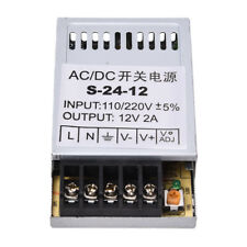 24W Driver Alimentatore Trasformatore DC 12V 2A per Striscia LED Lampada V9 O2L8