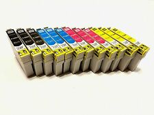 12PK NON-OEM 126 T126 Ink H Yield For Epson Stylus NX330/430 WF 520/630/635/840