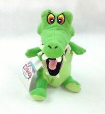 "The Disney Store Peter Pan Crock Mini Bean Bag 8"" Tick Tock Croc Crocodile"