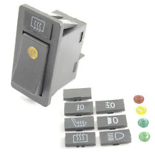 Multiuse On / Off Rocker Switch with LED warning Light - Head light / Fog etc