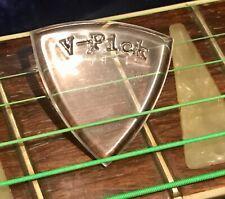 V-Picks Large Pointed – Guitar & Mandolin Pick. Clear