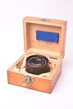 Objectif Carl Zeiss Jena Apo - Tessar f/9 - 240mm. #2708146. Avec boite en bois.