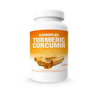 ChiroFlex 60ct: Turmeric Curcumin Anti-Inflammatory & Pain Relief Supplement