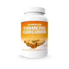 ChiroFlex 60ct: Turmeric Curcumin Anti-Inflammatory & Pain Relief Supplement