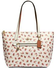 NEW  COACH Fruit Floral Print Taylor Shopper Travel Tote Bag Handbag
