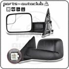 Power Heated Side Mirrors Pair For 2002-09 Dodge Ram 1500 2500 3500 Tow Mirrors