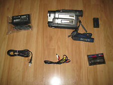 Sony CCD-TRV99 UNMODIFIED XRAY X RAY Camcorder - Silver MADE IN JAPAN.