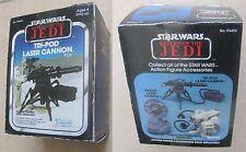 Star Wars Vintage TRI-POD LASER CANON REPRO BOX ONLY