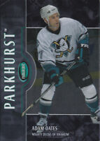 02-03 Parkhurst Adam Oates /50 SILVER Parallel Ducks 2002