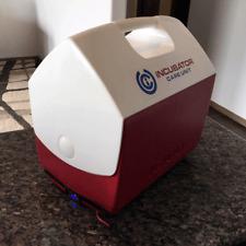 Portable Incubator puppy kitten litter safe 12v 110v digital thermostat car/home