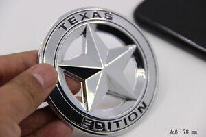 E859 Texas Edition Emblem Badge Fünfzackigen Stern auto aufkleber car Sticker