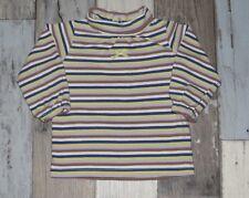 ~ Tee-shirt col roulé / Sous-pull rayé GRAIN DE BLE Taille 6 mois ~