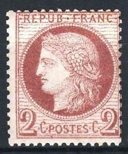 """FRANCE STAMP TIMBRE 51 """" CERES 2c ROUGE-BRUN 1872 """" NEUF xx A VOIR   P226"""
