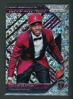 2018-19 COLLIN SEXTON PANINI PRIZM DISCO ROOKIE RC #8 LUCK OF THE LOTTERY