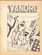 YANDRO #121 - 1963 sci-fi fanzine - Dan Adkins, Earl Kemp, Avram Davidson