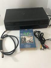SYMPHONIC  SL2820 VHS VCR w/o Remote! SERVICED & TESTED!!