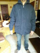 cappotto giaccone trench impermeabile ASPESI imbottito THERMORE uomo man L blu