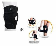 Solace Care Advance Neoprene Knee Support Open Patella Wrap Sports Pain Injury