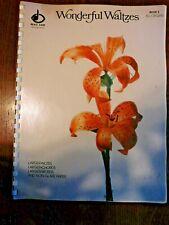 WONDERFUL WALTZES, BOOK 3 ORGAN, LARGE PRINT, NON-GLARE PAPER