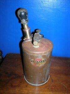Vintage Mysto Copper & Brass Handheld Garden SPRAYER