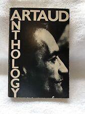 Antonin Artaud Anthology Second Edition Third Printing 1972 Soft Cover