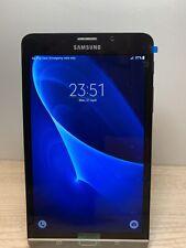 """Samsung Galaxy Tab A SM-T285 7"""" inch WiFi+4G Sim Free Black (2016) 8GB A-Grade"""