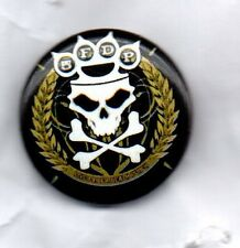 FIVE FINGER DEATH PUNCH BUTTON BADGE AMERICAN HEAVY METAL BAND - 5FDP 25mm