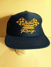 New ListingVintage Auto Value Parts Stores Racing Truckers SnapBack Hat Cap mesh