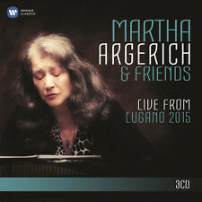 Martha Argerich & Fr - Live from Lugano Festival 2015 [New CD]