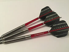 26 G 95% Tungsteno Freccette Supergrip rosso Set, Rosso SUPERGRIP STELI & Voli