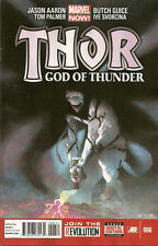 THOR # 6   N/M FIRST PRINT  god of thunder MARVEL NOW