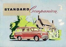 Standard Ten 10 Companion 1957-58 UK Market Sales Brochure
