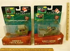 Walt Disney Atlantis Cookie's Chuck Wagon and Kida's Ketak Action Figure Set NIB
