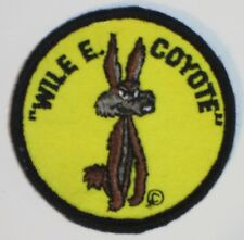 WILE E. COYOTE PATCH ORIGNAL 60s-70s NEW VINTAGE RETRO HIPPIE SEW ON JACKET VEST