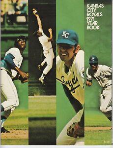 1971 Kansas City Royals Yearbook NEAR MINT