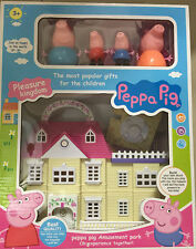 PEPPA PIG Play House Playset Furniture & Figures Toy