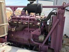 Water Jet/Blasting Unit- Cummins 855 Diesel (270 Hp) &  20 gpm, 20kpsi FMC Pump