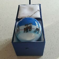 More details for schnauzer dog christmas bauble including decorative gift box free postage