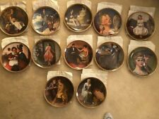 """Norman Rockwell's """"Rediscovered Women� 12 Decorative Plates Series Classic"""