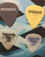 KORN (4) 2002 Untouchables Tour guitar picks