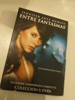 DVD  lote ENTRE FANTASMAS   segunda temporada  (6 dvd)