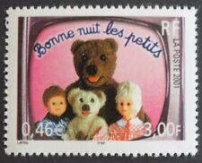 Timbre neuf MNH France 2001 : Bonne nuit les petits