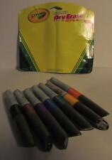 Crayola Visi-Max Dry Erase Chisel Tip Markers x 7 New Other