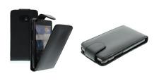 Schutzhülle Luxus (schwarzes Leder) ~ Nokia c6-00 / c6