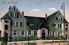 19223/ Foto AK, Haan, Rhld., Bahnhof, Bahnpost 1913