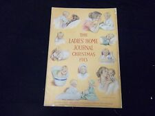 1913 CHRISTMAS LADIES' HOME JOURNAL MAGAZINE- GREAT ILLUSTRATIONS & ADS- ST 1738