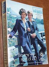 1976 Montgomery Ward Catalog - Spring Bicentennial Edition - Good Condition