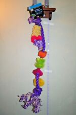 New listing Calypso Creations,Large, Twisted Bird Cage Toy,Colorful,M/L Parrot*Usa Seller*